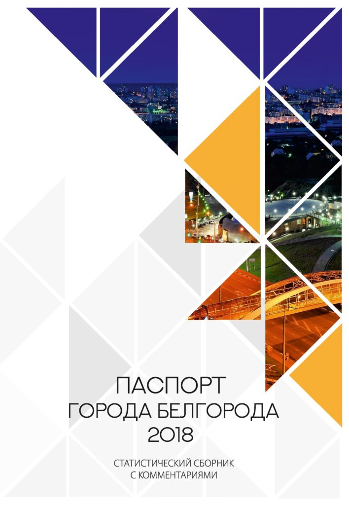Паспорт Белгорода 2018 года