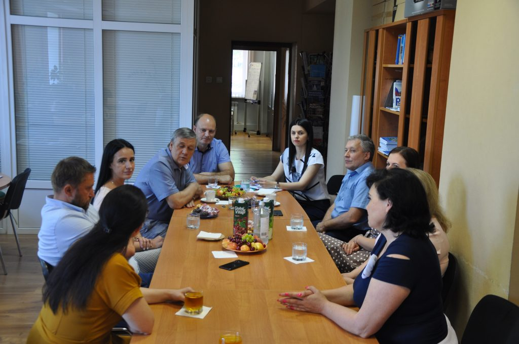 Встреча коллектива МАУ «ИМРСТ» с С.А. Боженовым. 2020 г