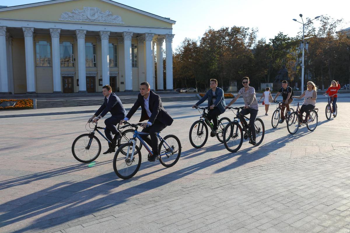 Белгород в очередной раз присоединится к акции «На работу на велосипеде»