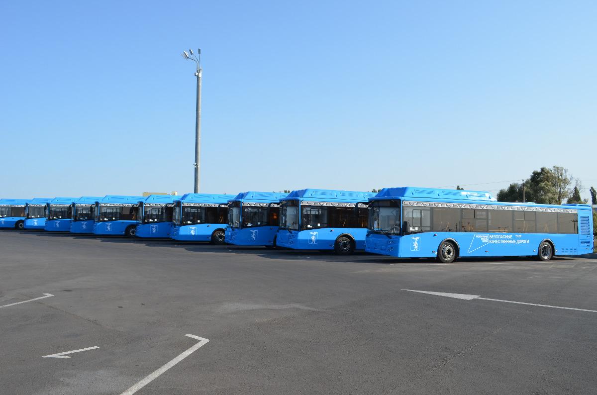 В Белгород поступила первая партия новых автобусов