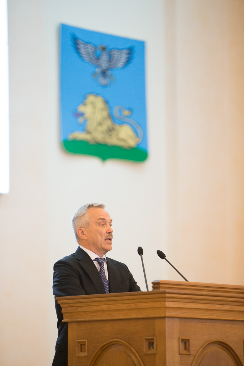 Евгений Савченко избран сенатором от Белгородской области