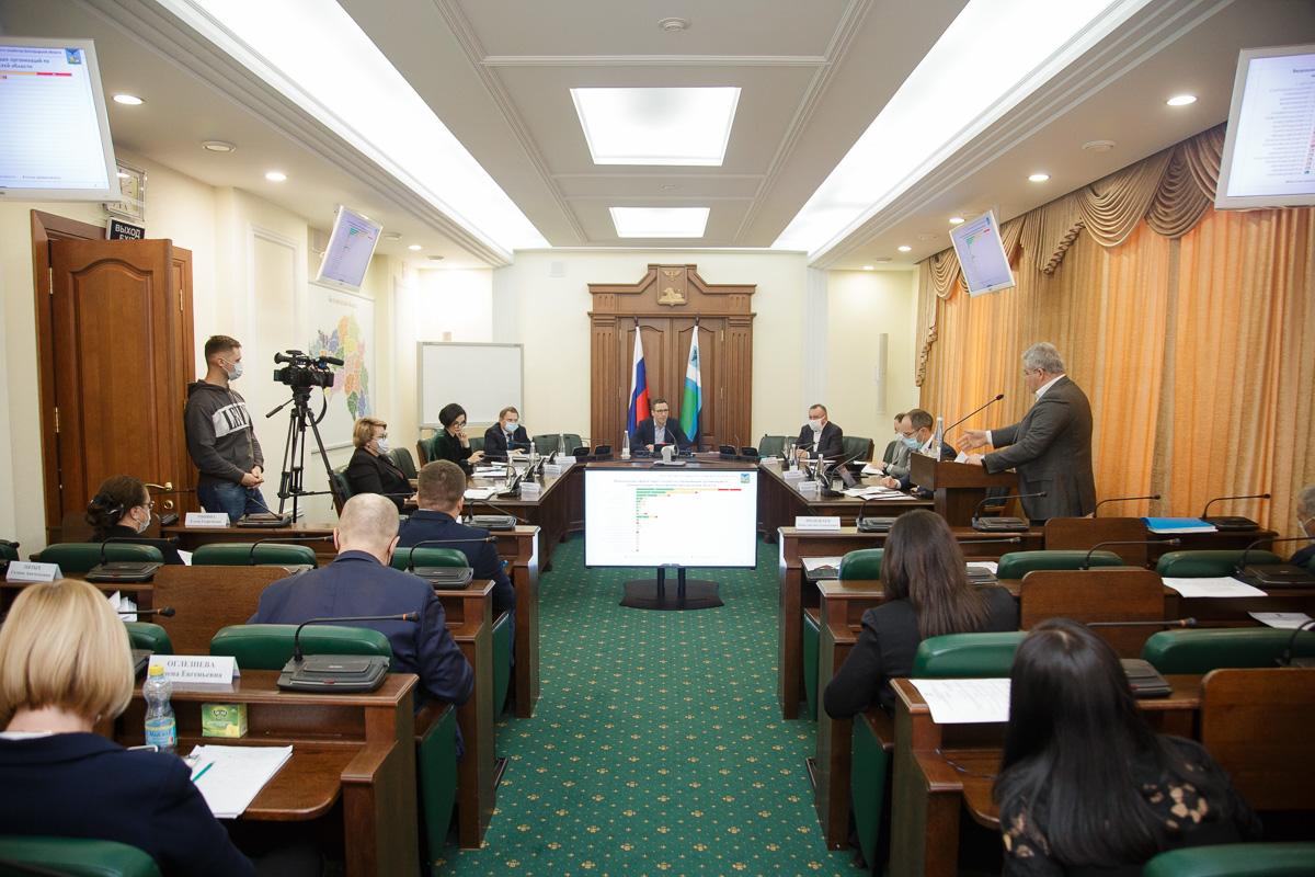 Состоялось еженедельное оперативное совещание Правительства области