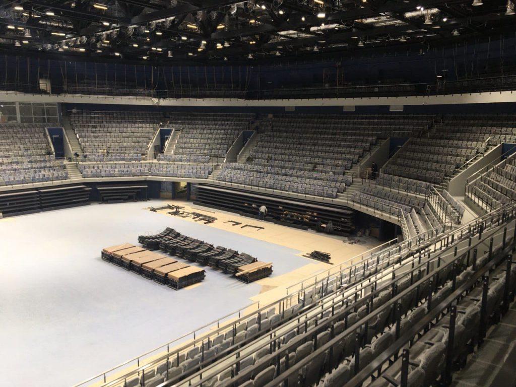 Волейбольная арена в Белгороде откроется в апреле 2021 года