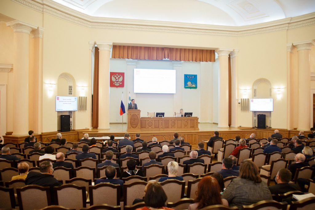 Вячеслав Гладков принял участие в заседании Белгородской областной Думы