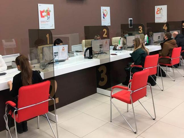 В Белгороде на площадке Госавтоинспекции открыли новый МФЦ