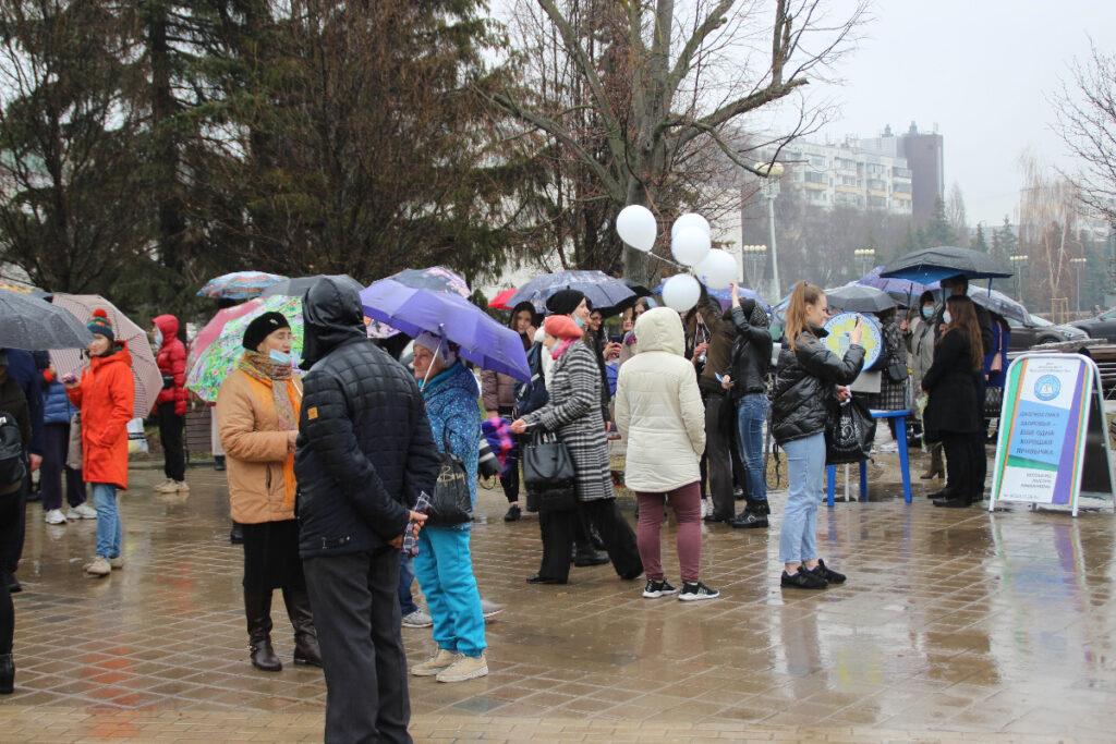 В Белгороде провели акцию, посвященную Всемирному дню здоровья