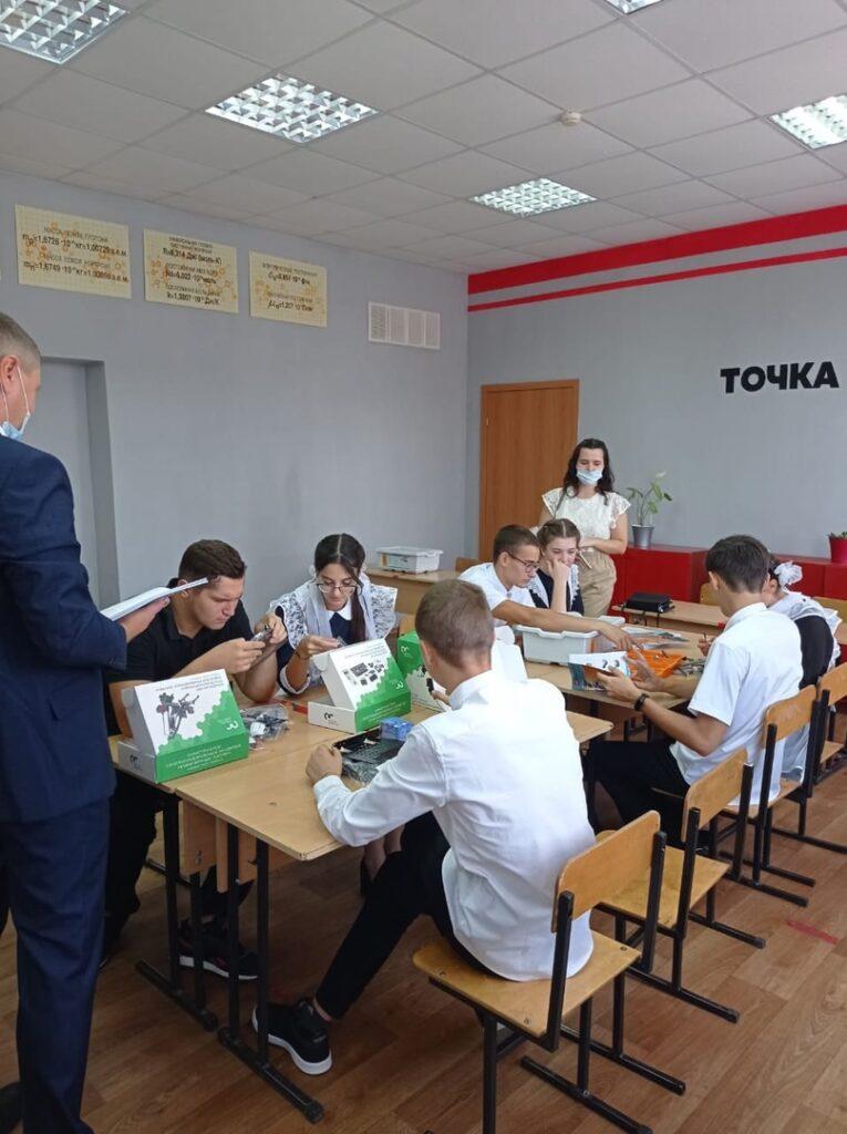 Все «Точки роста» в Белгородской области оснастили современным оборудованием